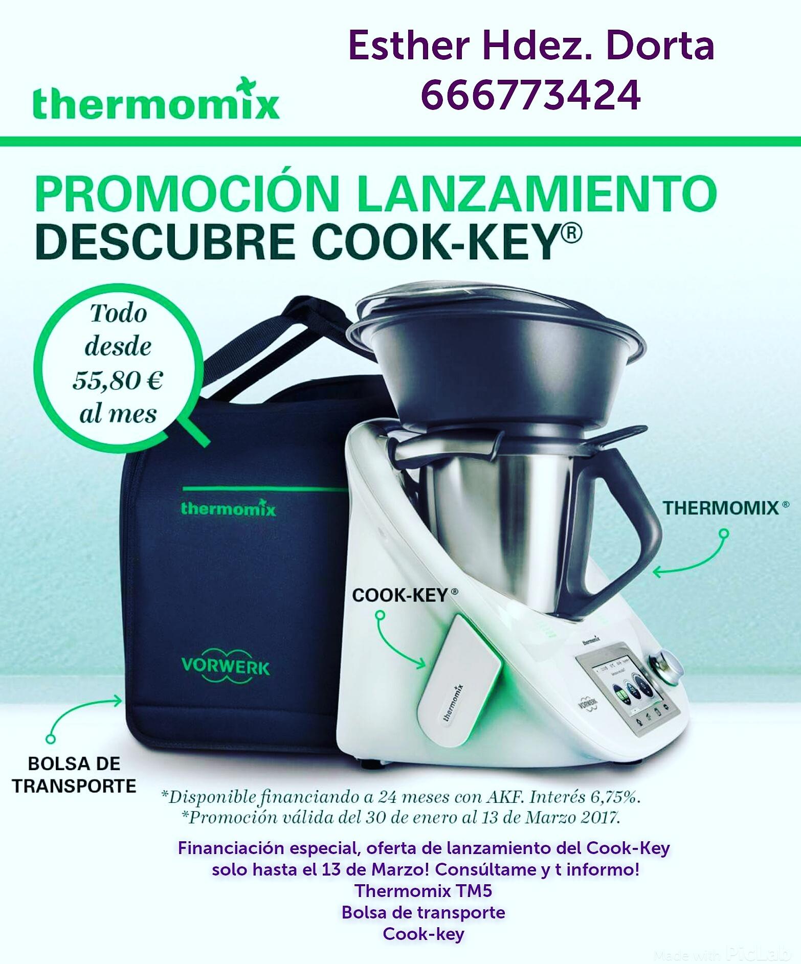 Oferta de lanzamiento Cook-key