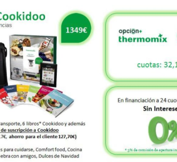 Thermomix® TM6 EDICIÓN COOKIDOO®