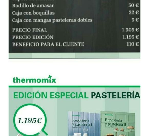 Thermomix® EDICIÓN PASTELERIA