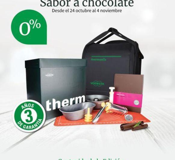 Thermomix® TM6 EDICIÓN CHOCOLATE 0% INTERÉS
